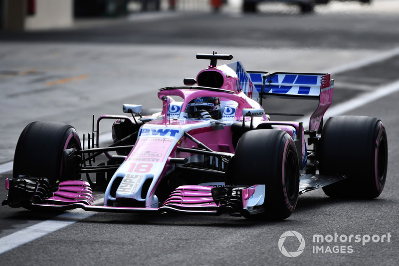 Лэнс Стролл, Racing Point Force India F1 VJM11
