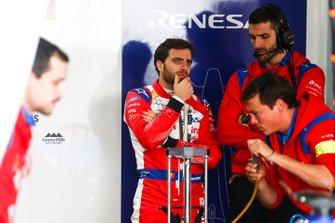 Jérôme d'Ambrosio, Mahindra Racing in the garage