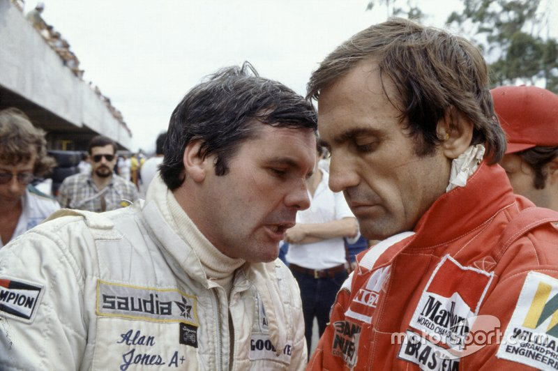 7: Alan Jones & Carlos Reutemann (Williams)