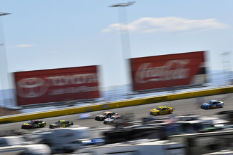 Martin Truex Jr., Furniture Row Racing, Toyota Camry 5-hour ENERGY and Jimmie Johnson, Hendrick Motorsports, Chevrolet Camaro Lowe's for Pros