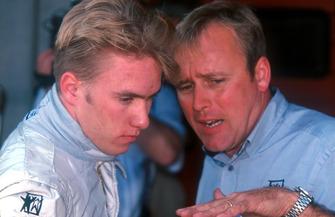 Nick Heidfeld, West Jnr Team International F3000 con David Brown