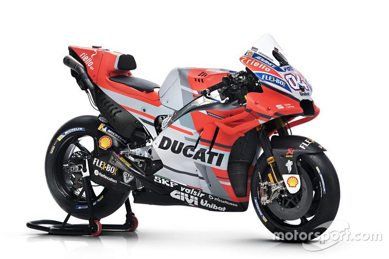 Andrea Dovizioso'nun motosikleti, Ducati Team