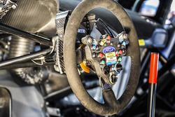 M-Sport Ford steering wheel