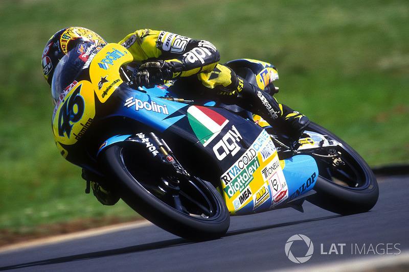1996. Aprilia RS125 (125cc) - 9 місце, 1 перемога, 111 очок