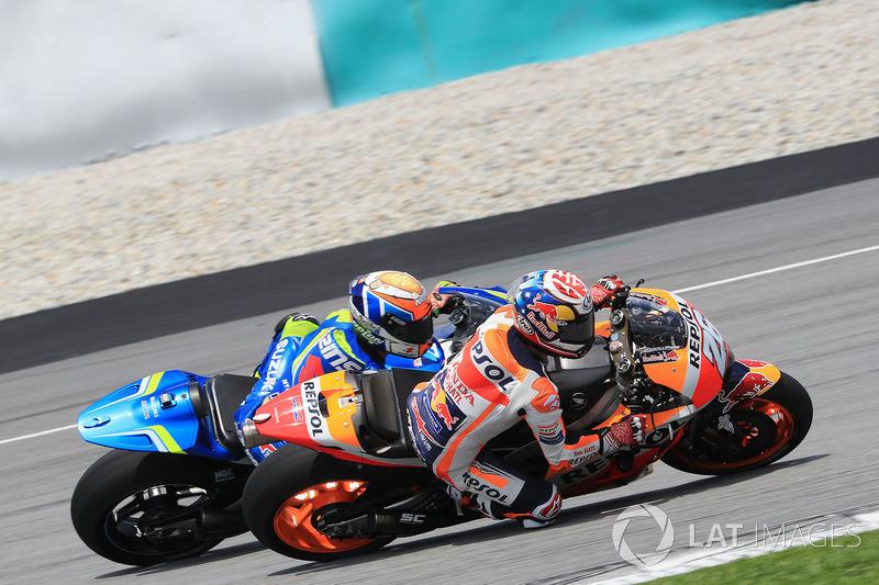 Dani Pedrosa, Repsol Honda Team, Alex Rins, Team Suzuki MotoGP