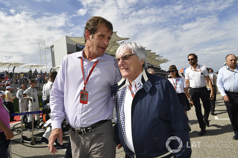 Bobby Epstein, US GP Promoter, Bernie Ecclestone, CEO Formula One Group