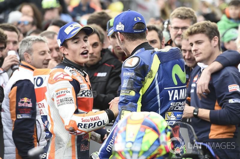 Gesekan dengan Marquez