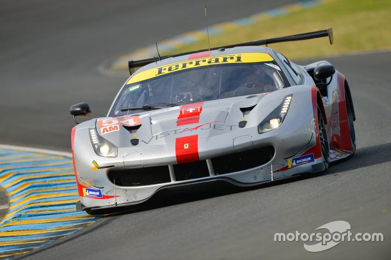 4. LMGTE-Am: #54 Spirit of Race, Ferrari 488 GTE