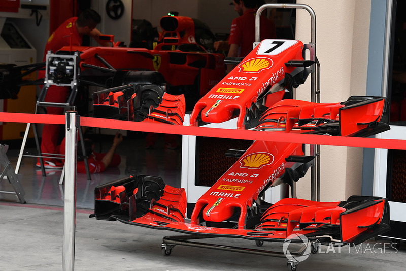 Ferrari SF71H burun ve ön kanat