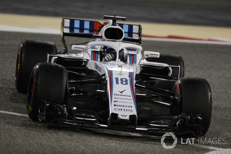 Lance Stroll, Williams FW41 Mercedes