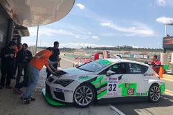 David Cébrian, Max Llobet, SEAT Leon TCR, RC2 Junior Team
