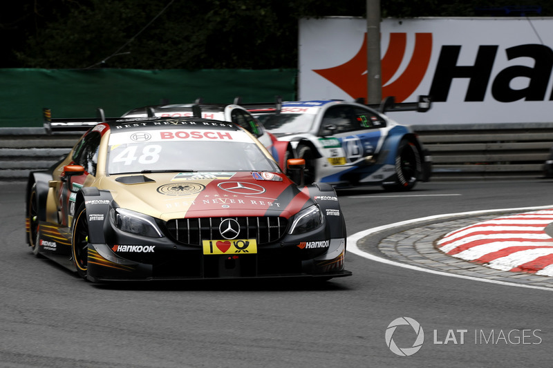2. Edoardo Mortara, Mercedes-AMG Team HWA, Mercedes-AMG C63 DTM