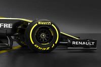 Renault F1 Team RS18, dettaglio anteriore