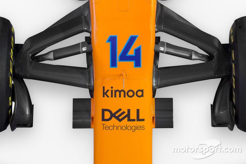 McLaren MCL33, передня підвіска