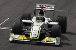 Jenson Button, Brawn GP BGP001 celebrate