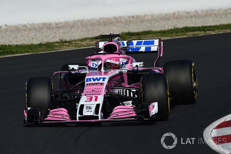 Эстебан Окон, Sahara Force India F1 VJM11
