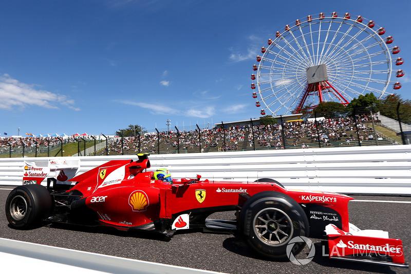 Felipe Massa – 24 GPs (Malásia 2012 a Espanha 2013)