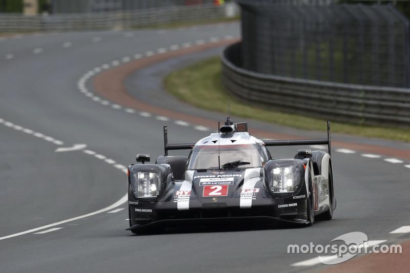Das Siegerauto, der #2 Porsche