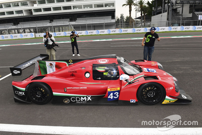 VIP Hot Laps in the RGR Sport by Morand Ligier JSP2 - Nissan
