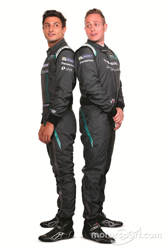 Mitch Evans, Jaguar Racing avec Adam Carroll, Jaguar Racing