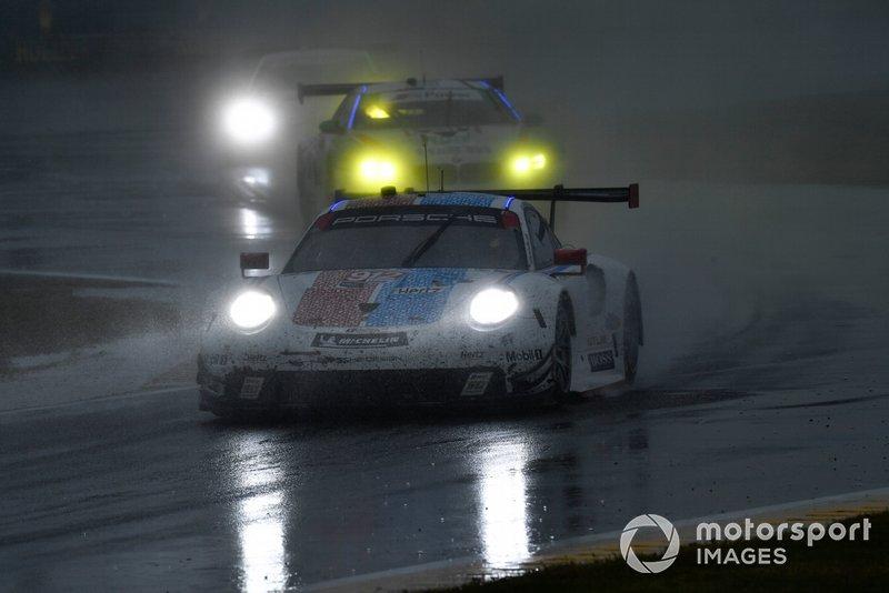 #912 Porsche GT Team Porsche 911 RSR, GTLM: Mathieu Jaminet, Earl Bamber, Laurens Vanthoor