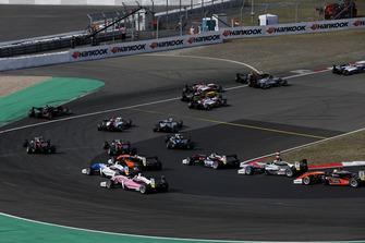 Renn-Action der Formel-3-EM 2018 auf dem Nürburgring