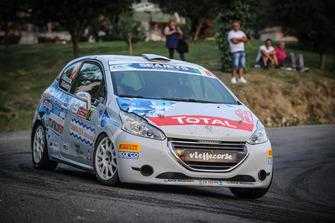Andrea Mazzocchi, Silvia Gallotti, Peugeot 208 R2