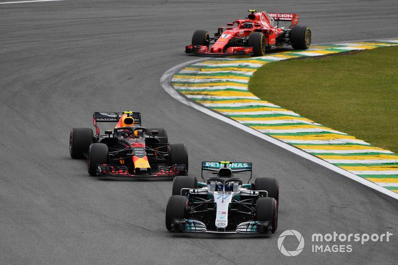 Валттері Боттас, Mercedes AMG F1 W09, МАкс Ферстаппен, Red Bull Racing RB14