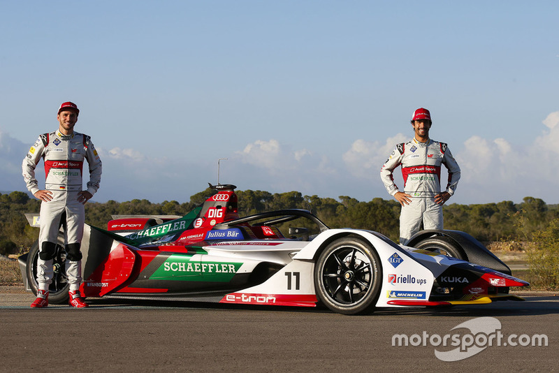 Daniel Abt, Lucas di Grassi, Audi Sport ABT Schaeffler Audi e-tron FE05