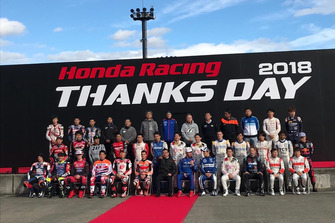 Foto de grupo Honda Thanks Day 2018