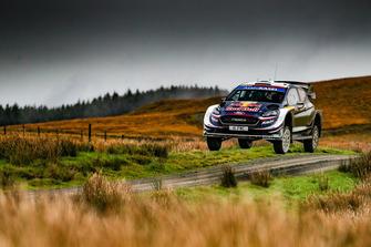 Elfyn Evans, Daniel Barritt, M-Sport Ford WRT Ford Fiesta WRC VIALATTE Aurelien