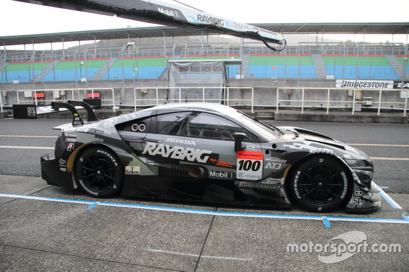 Super-GT-Test in Okayama