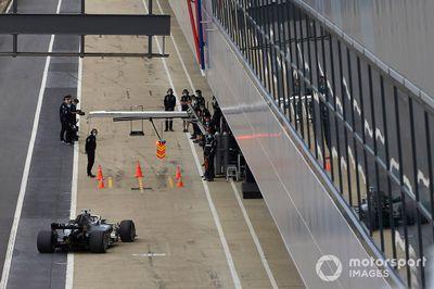 Mercedes-Test in Silverstone