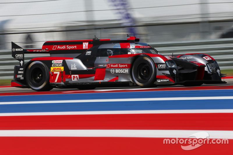 1. LMP1: #7 Audi R18: Marcel Fässler, Andre Lotterer, Benoit Tréluyer