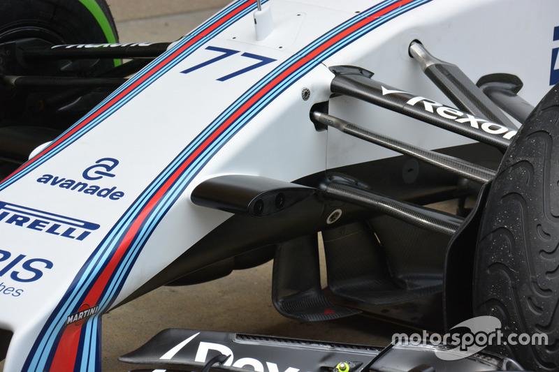 Williams FW38 detail