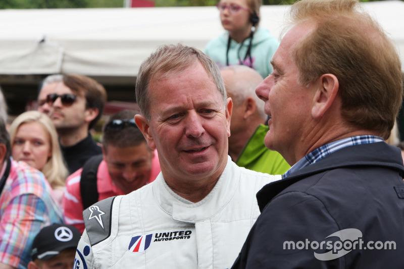 Martin Brundle ve Jonathan Palmer