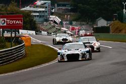 #25 Sainteloc Racing Audi R8 LMS: Christian Kelders, Marc Rostan, Fred Bouvy, Marco Bonanomi