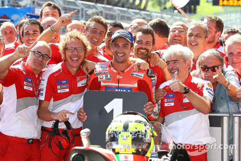 Sieger Andrea Iannone, Ducati Team