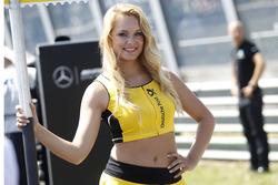 La grid girls di Christian Vietoris, Mercedes-AMG Team Mücke, Mercedes-AMG C63 DTM