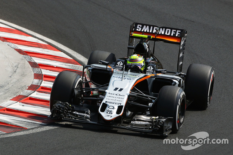 13. Sergio Perez, Sahara Force India F1 VJM09