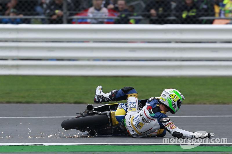 Stefano Valtulini, 3570 Team Italia crash