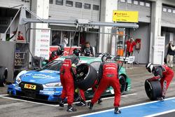 Loic Duval, Audi Sport Team Phoenix, Audi RS 5 DTM, Boxenstopp