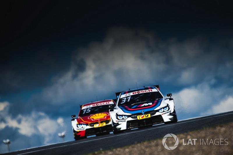 2. Tom Blomqvist, BMW Team RBM, BMW M4 DTM