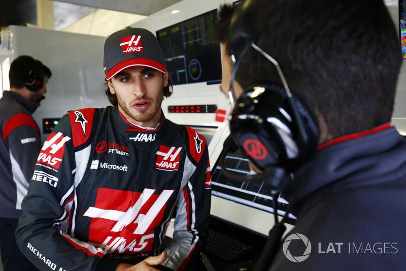 Antonio Giovinazzi, Haas F1 Team