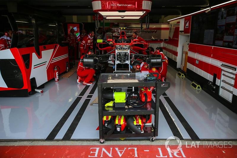 Механіки Ferrari, Кімі Райкконен, Ferrari SF70H