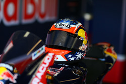 Helmet of Nicky Hayden, Honda World Superbike Team