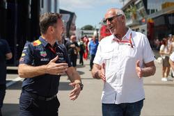 Christian Horner, Team Principal Red Bull Racing et Dietrich Mateschitz, président et fondateur de Red Bull