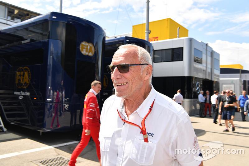 Dietrich Mateschitz, patron et fondateur de Red Bull