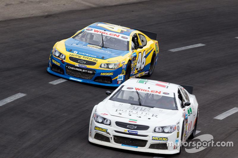 Meisam Taheri, Dog Racing Chevrolet und Marko Stipp, Team Racing Total Chevrolet