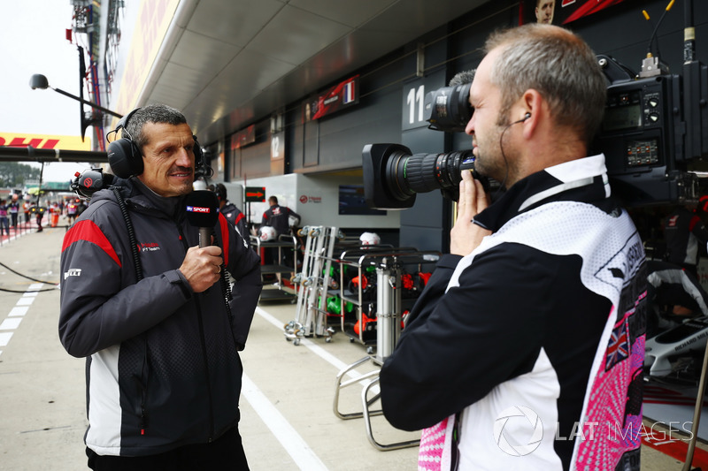 Guenther Steiner, director del equipo Haas F1 Team